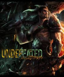 Undefeated Swordsman by MrReltOtaku