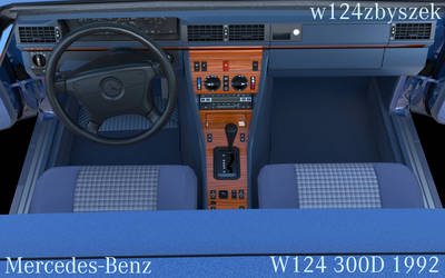 Mercedes-Benz W124 300D X 1992 3D model by pecet8686