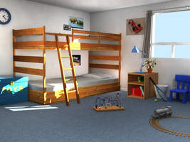 Childs Room by juntao