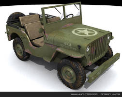 willys jeep by juntao