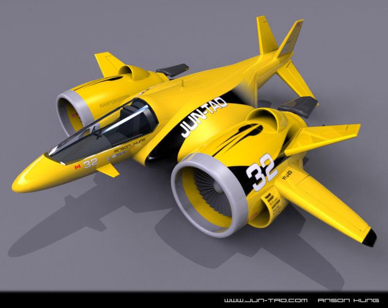 Jet Racer by juntao