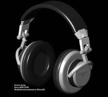 Headphones Sony MDR-V700 by juntao