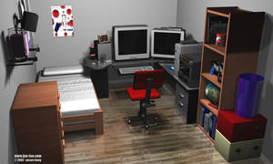 my room done in max by juntao