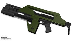 M 41a Pulse Rifle by juntao