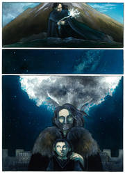 The White Tree of Gondor by aegeri