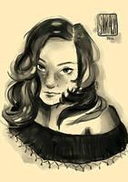 SonSon's portrait by ThatArtisticVein