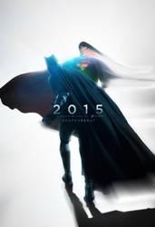 Batman VS Superman Poster 1 by TributeDesign