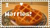 I love waffles stamp by Evil-Kitty-Milkshake