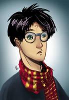 Harry PoRtrait by barelt1
