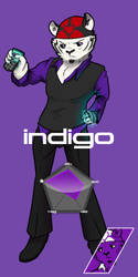 INSTINCT Fighter No.2: Indigo by tealfoxy