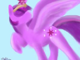 Princess Twilight Sparkle by Cresselivoir