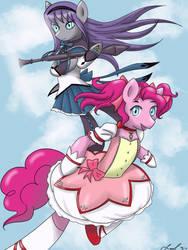 Puella Magi Pinkie Pie Magica by Cresselivoir