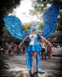 Frozen Warrior (Articuno Gijinka Cosplay) by Cresselivoir