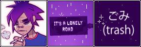 purple solitude -f2u- by AbrilKawaii