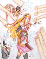 Steampunk Wonderland by heyraynie
