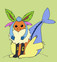 The Fattest Eeveelution Ever by Cuccoteaser