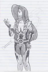 In Class Sketch: Vhangis by MatrixDragondavid