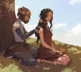 Girls by AnirinArt