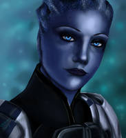 Liara Painting by aprilelvidge