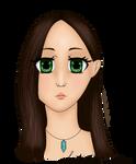 Vesna - portrait | MANGA by KatieSapphire