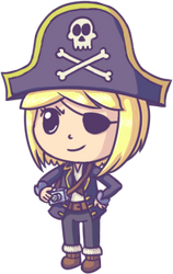 Request - Pirate Captain by Hanae-Narahashi