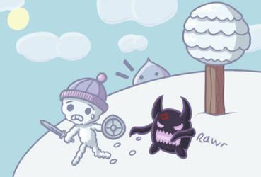 Feel The Snow by Hanae-Narahashi