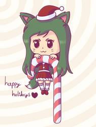 Happy Holidays! by Hanae-Narahashi