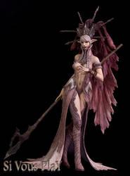 Dark Elf Queen by sivousplay