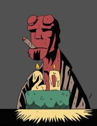 Hellboy 20 Years by Alex-Claw