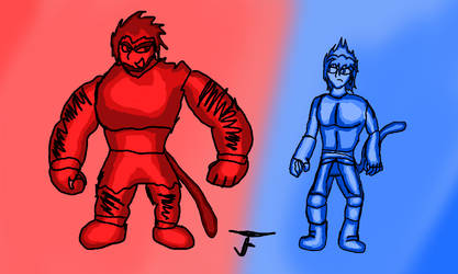 A Tale of Two Saiyans by JnFProductions