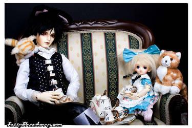 Alice in Wonderland by evildolly