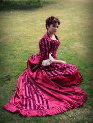 1883 Worth Reception Gown by KATofDARKNESS