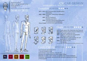 New CV by Maskim11