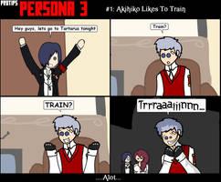 Protips Persona 3 : Train by Wazy
