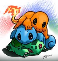 Poke-pile - 1st Gen by JA-punkster