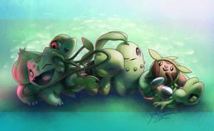 Flora babies by JA-punkster