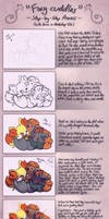 Foxy cuddles - Step-by-Step Process by JA-punkster