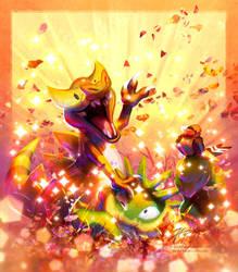 Shiny Buddies - Nov '18 by JA-punkster
