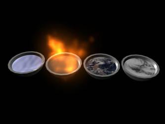 Elements 1 by StalkerInTheShadows