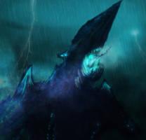 Kaiju knifehead mk2 by AtomicWarpin