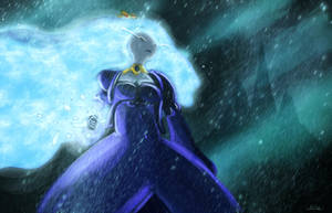 Ice queen, the world will look up. by AtomicWarpin