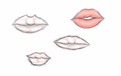 Lip Practice 01 by Astranoe