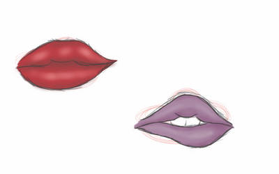 Lip Practice 02 by Astranoe