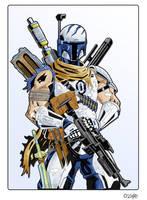 Vinzer War Machine Colored by cajunthief