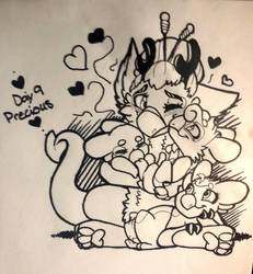 [Inktide2018] Day 9: Precious by StrongWingsOfPride