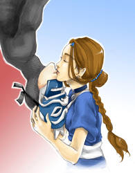 kiss me good-bye -colored- by yume-darling