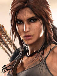 Lara Croft by SarinasuRaito