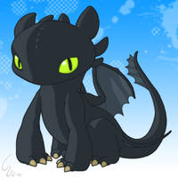 Toothless by Ribera