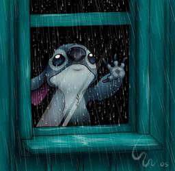 Rainy Night by Ribera