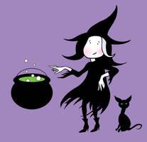 Lil' Witch by JamieCOTC